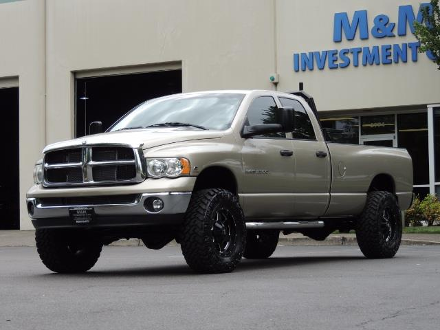 2004 Dodge Ram 2500 SLT 4dr / 4X4 / 5.9L DIESEL / 6-SPEED  / LIFTED - Photo 45 - Portland, OR 97217