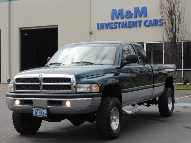1999 Dodge Ram 2500 Laramie Slt 4x4 5 9l Diesel Long Bed Leather