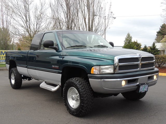 1999 dodge ram 2500 laramie slt 4x4 5 9l diesel long bed leather. Black Bedroom Furniture Sets. Home Design Ideas