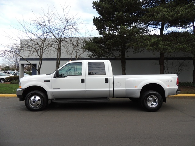 used 2003 ford f 350 4x4 lariat 7 3l diesel dually longbed 74k mile for sale in portland or. Black Bedroom Furniture Sets. Home Design Ideas