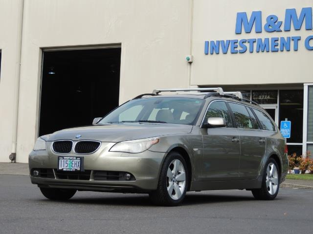 2006 BMW 530xi / AWD / Wagon / Pano Sunroof / Excel Cond - Photo 43 - Portland, OR 97217