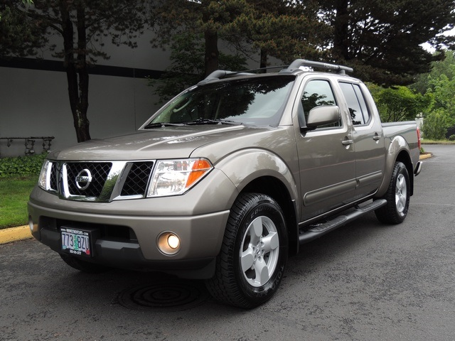 2005 nissan frontier le 4x4 crew cab 1 owner excel cond. Black Bedroom Furniture Sets. Home Design Ideas