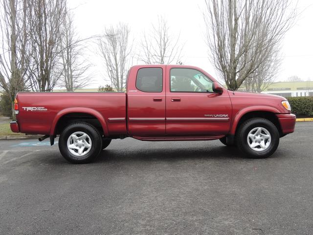 2001 toyota tundra limited 4dr access cab limited v8 4x4 83k miles. Black Bedroom Furniture Sets. Home Design Ideas