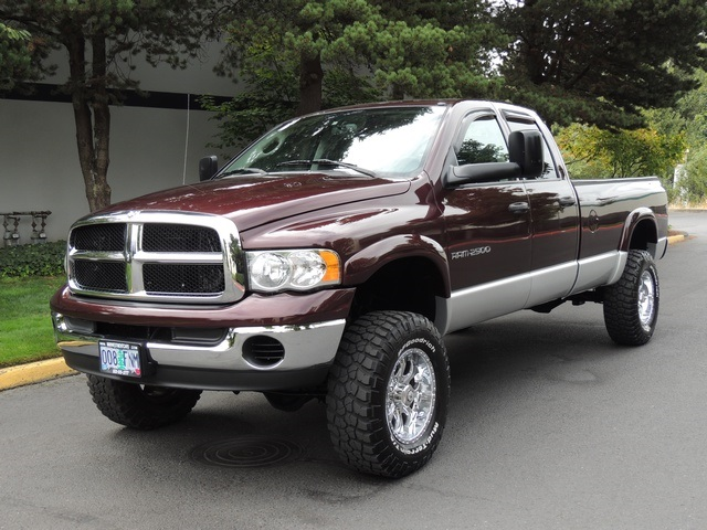 2004 dodge ram 2500 slt longbed 4x4 5 9l diesel lifted. Black Bedroom Furniture Sets. Home Design Ideas