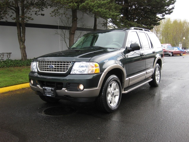 2003 ford explorer eddie bauer 4wd dvd 3rd seat park sensors. Black Bedroom Furniture Sets. Home Design Ideas