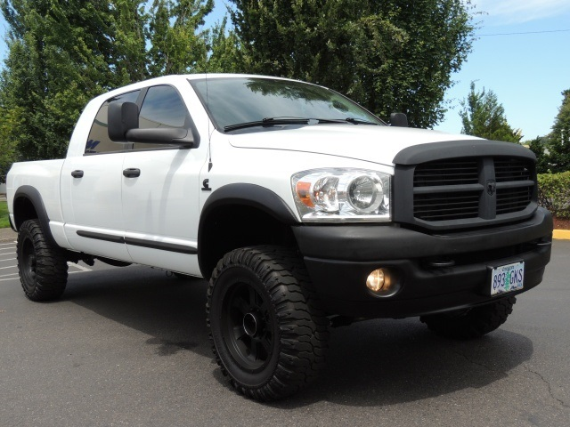 2007 dodge ram 2500 laramie mega cab diesel lifted leather. Black Bedroom Furniture Sets. Home Design Ideas