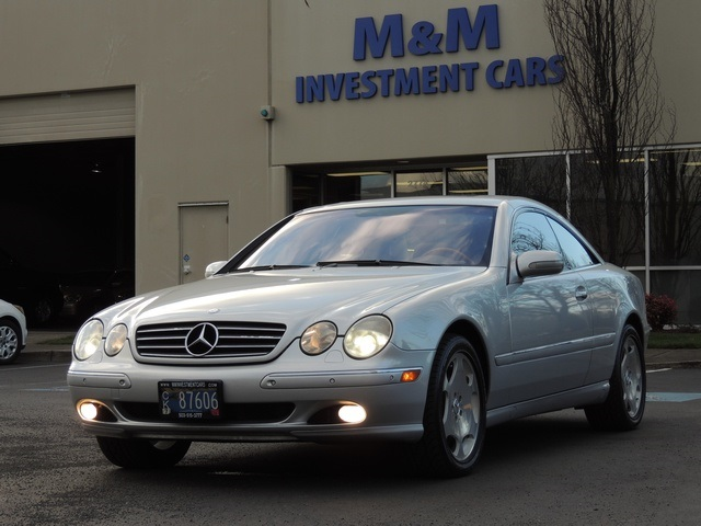 2002 mercedes benz cl500 like new many service records for 2002 mercedes benz cl500