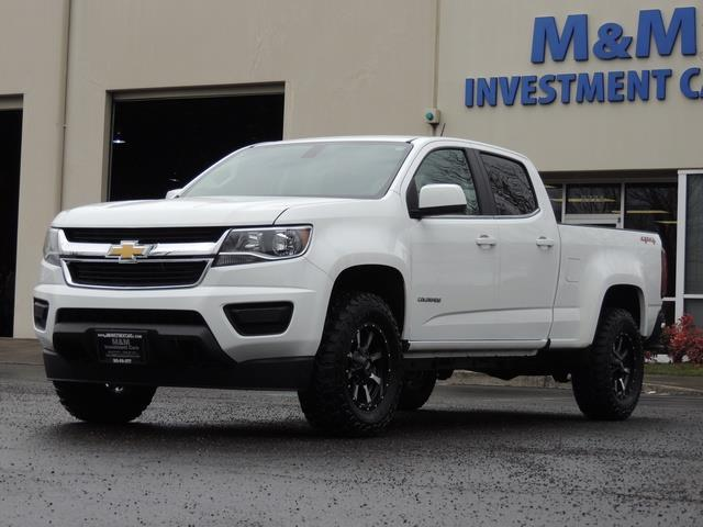 2015 chevrolet colorado lt crew cab 4x4 6cyl lifted lifted. Black Bedroom Furniture Sets. Home Design Ideas
