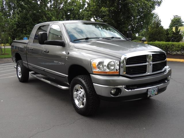 2006 dodge ram 2500 slt mega cab 4x4 5 9l diesel high. Black Bedroom Furniture Sets. Home Design Ideas