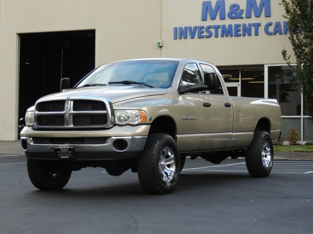 2004 dodge ram 2500 4x4 ho 5 9l cummins diesel long bed 6 speed. Black Bedroom Furniture Sets. Home Design Ideas