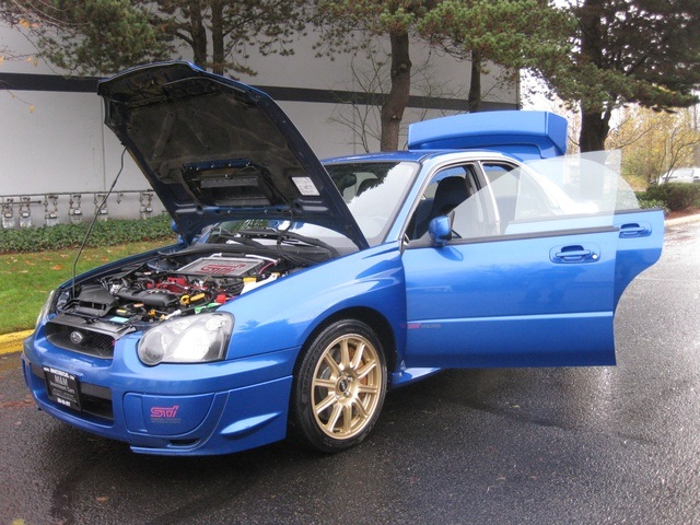 2005 subaru impreza wrx sti 6 speed turbo 1 owner. Black Bedroom Furniture Sets. Home Design Ideas