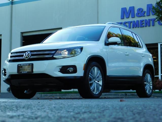 2014 Volkswagen Tiguan SEL 4Motion / AWD / Leather / Navi / Pano Sunroof - Photo 46 - Portland, OR 97217