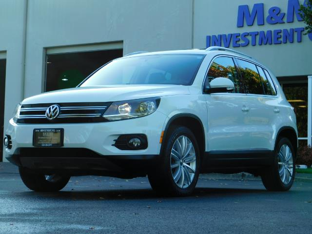 2014 Volkswagen Tiguan SEL 4Motion / AWD / Leather / Navi / Pano Sunroof - Photo 48 - Portland, OR 97217