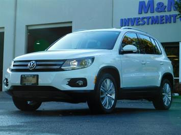 2014 Volkswagen Tiguan SEL 4Motion / AWD / Leather / Navi / Pano Sunroof SUV