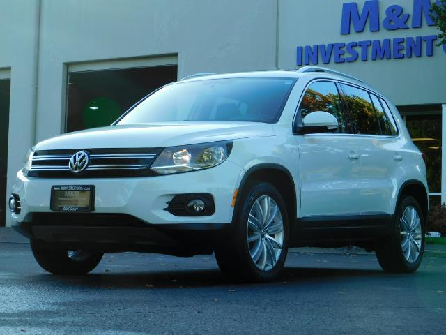 2014 Volkswagen Tiguan SEL 4Motion / AWD / Leather / Navi / Pano Sunroof - Photo 1 - Portland, OR 97217