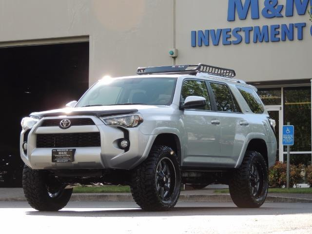 2016 Toyota 4Runner SR5 SPORT SUV 4WD V6 / 3RD SEATS REAR CAM / LIFTED - Photo 1 - Portland, OR 97217