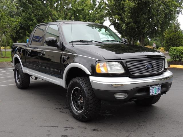 2003 ford f 150 lariat 4dr supercrew 4x4 leather sunroof. Black Bedroom Furniture Sets. Home Design Ideas