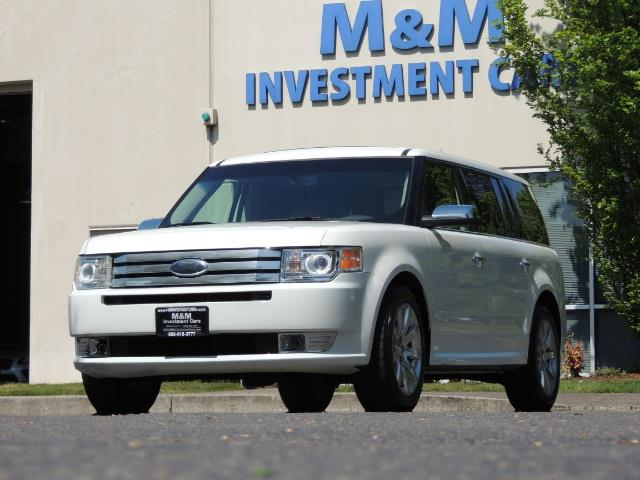 2010 Ford Flex Limited / AWD / Third Seat / Navigation / Leather - Photo 50 - Portland, OR 97217