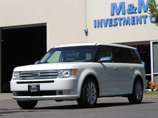2010 Ford Flex Limited / AWD / Third Seat / Navigation / Leather - Photo 49 - Portland, OR 97217