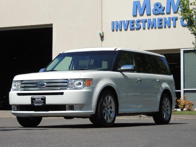 2010 Ford Flex Limited / AWD / Third Seat / Navigation / Leather - Photo 1 - Portland, OR 97217