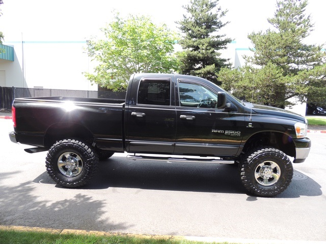 2006 dodge ram 2500 slt 4x4 5 9l cummins diesel 50k miles lifted. Black Bedroom Furniture Sets. Home Design Ideas