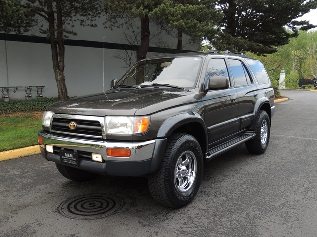used 1997 toyota 4runner limited for sale in portland or. Black Bedroom Furniture Sets. Home Design Ideas