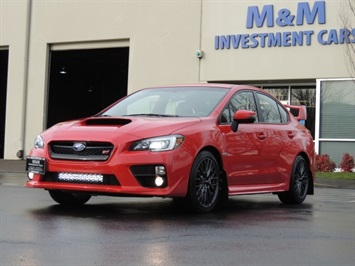2016 Subaru WRX STi / 6 SPEED / FULL FACTORY WARRANTY / Like New Sedan