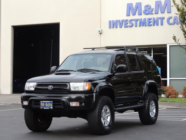 2000 Toyota 4runner Sr5 6cyl 4x4 Leather Lifted Lifted
