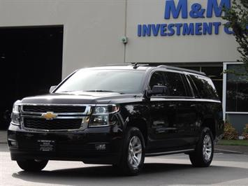 2016 Chevrolet Suburban LT 1500 / 4X4 / Leather / Sunroof / 8-Passenger SUV