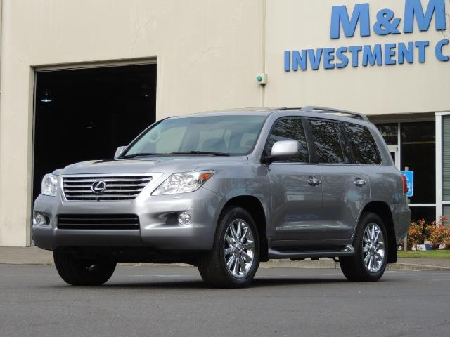 2010 Lexus LX 570 / AWD / Navi / Backup / Third Seat / 1-OWNER - Photo 43 - Portland, OR 97217