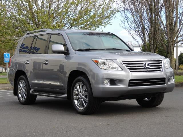 2010 Lexus LX 570 / AWD / Navi / Backup / Third Seat / 1-OWNER - Photo 2 - Portland, OR 97217