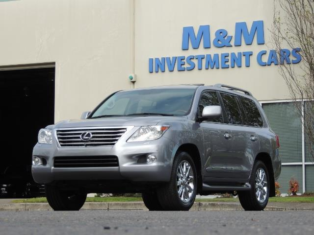 2010 Lexus LX 570 / AWD / Navi / Backup / Third Seat / 1-OWNER - Photo 38 - Portland, OR 97217
