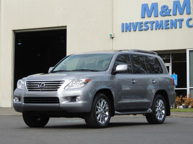 2010 Lexus LX 570 / AWD / Navi / Backup / Third Seat / 1-OWNER - Photo 1 - Portland, OR 97217