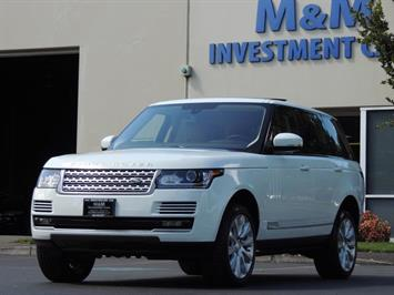 2015 Land Rover Range Rover Supercharged / 4WD / LOADED LOADED / 8500 MILES SUV