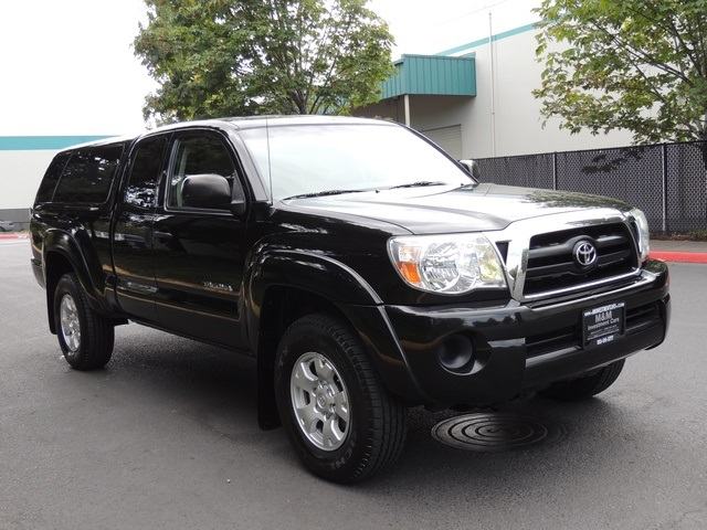 2006 toyota tacoma sr5 4x4 4cyl 5 speed manual canopy 78k miles. Black Bedroom Furniture Sets. Home Design Ideas