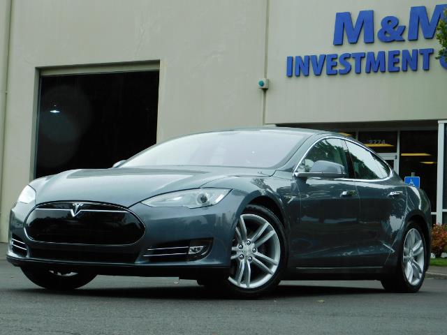 2013 Tesla Model S Tech Package / Smart Suspention / Leather / heated - Photo 41 - Portland, OR 97217