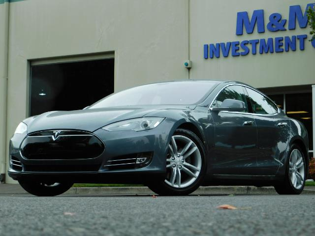 2013 Tesla Model S Tech Package / Smart Suspention / Leather / heated - Photo 40 - Portland, OR 97217