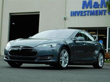 2013 Tesla Model S Tech Package / Smart Suspention / Leather / heated Sedan