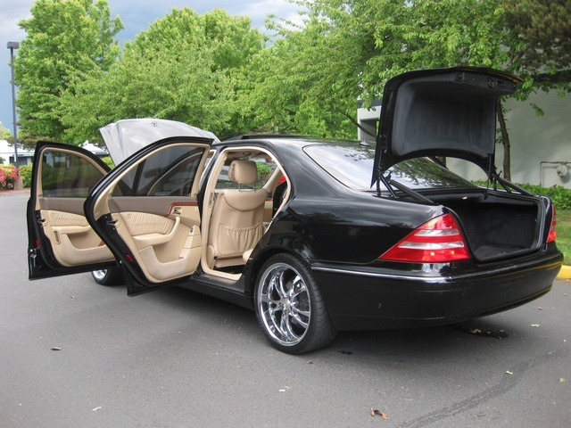 2001 mercedes benz s430 sedan lwb navigation leather for S430 mercedes benz