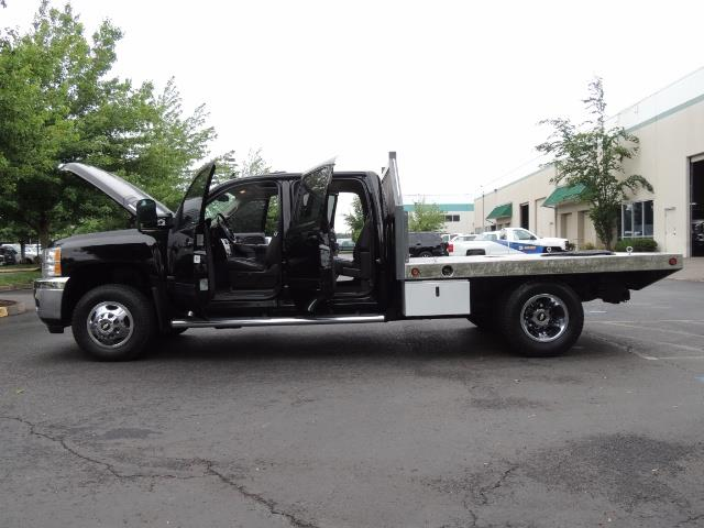 2011 Chevrolet Silverado 3500 LTZ DUALLY 4X4 FLAT BED 6.6L DURAMAX ALLISON - Photo 23 - Portland, OR 97217