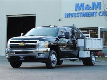 2011 Chevrolet Silverado 3500 LTZ DUALLY 4X4 FLAT BED 6.6L DURAMAX ALLISON Truck