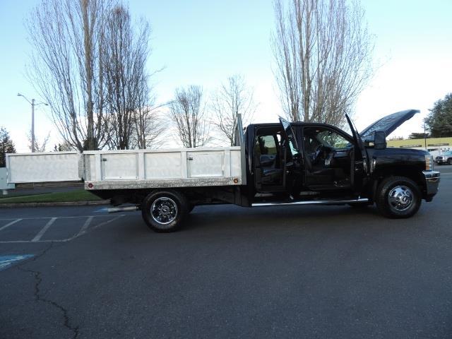 2011 Chevrolet Silverado 3500 LTZ DUALLY 4X4 FLAT BED 6.6L DURAMAX ALLISON - Photo 24 - Portland, OR 97217