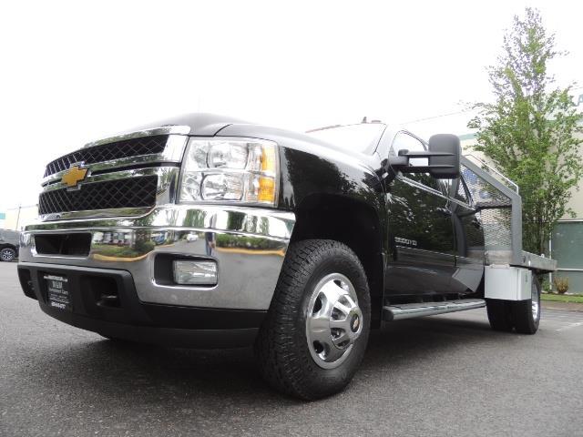 2011 Chevrolet Silverado 3500 LTZ DUALLY 4X4 FLAT BED 6.6L DURAMAX ALLISON - Photo 9 - Portland, OR 97217