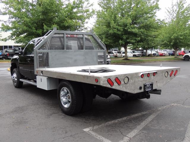 2011 Chevrolet Silverado 3500 LTZ DUALLY 4X4 FLAT BED 6.6L DURAMAX ALLISON - Photo 7 - Portland, OR 97217