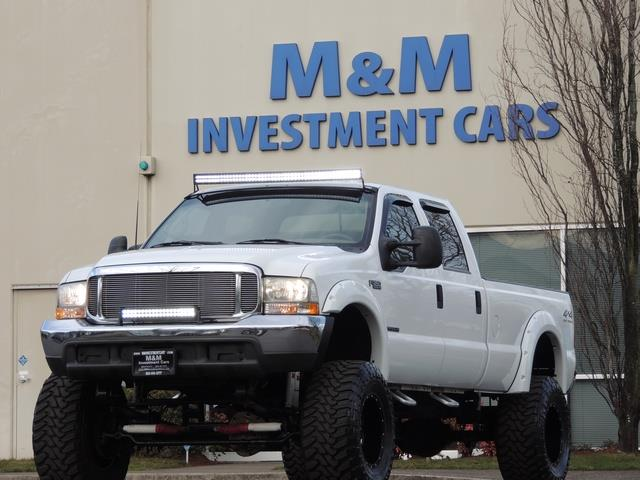 2000 Ford F-350 LARIAT 4X4 LONG BED / 7.3 DIESEL / MONSTER LIFTED - Photo 24 - Portland, OR 97217