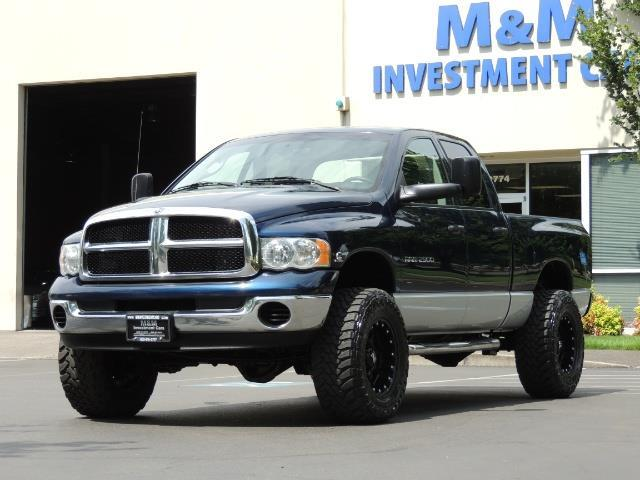 2004 dodge ram 2500 4x4 quad cab 5 9 l cummins diesel lifted. Black Bedroom Furniture Sets. Home Design Ideas