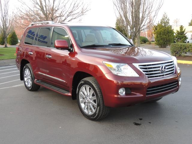 2009 lexus lx 570 awd super luxury options fully loaded. Black Bedroom Furniture Sets. Home Design Ideas