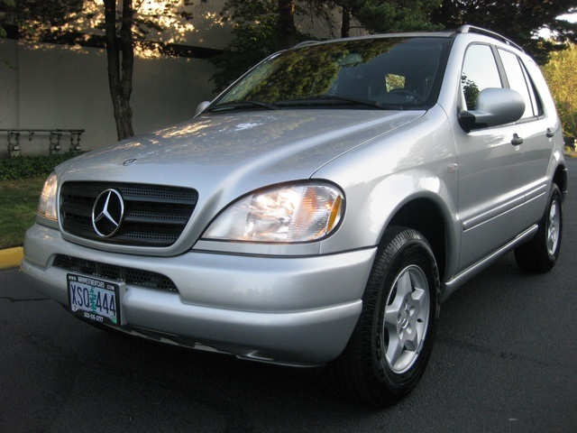 2000 mercedes ml320 tire size for Mercedes benz tire sizes