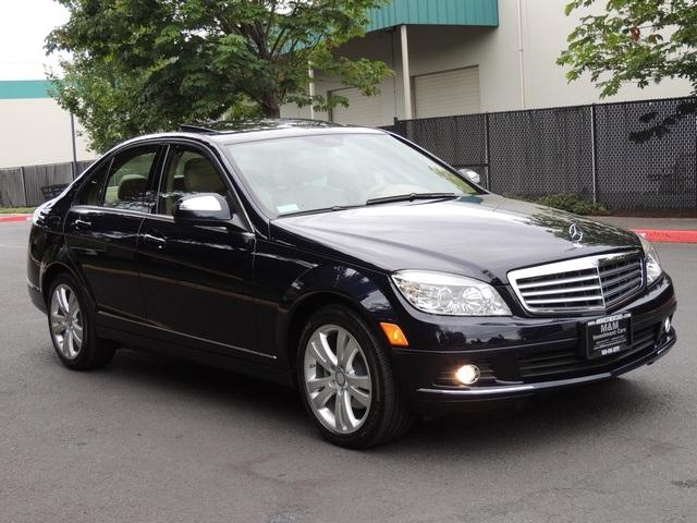 2008 mercedes benz c300 luxury loaded original 6 835 miles. Black Bedroom Furniture Sets. Home Design Ideas