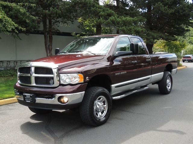 2004 dodge ram 2500 slt 4x4 long bed 5 9l diesel 6. Black Bedroom Furniture Sets. Home Design Ideas